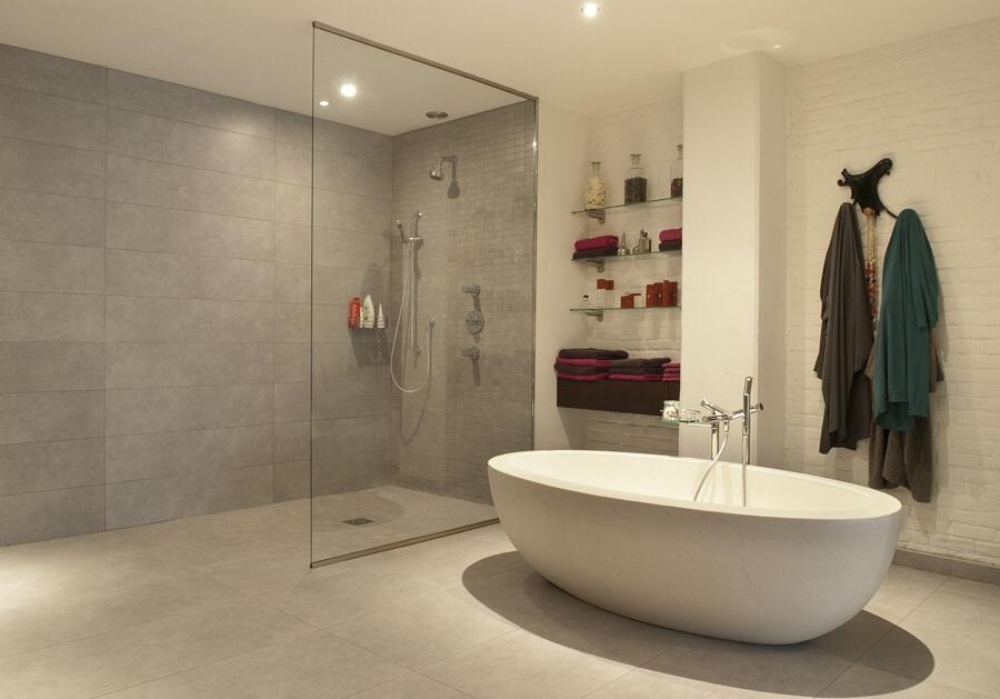 Bad Offene Dusche Und Badewanne